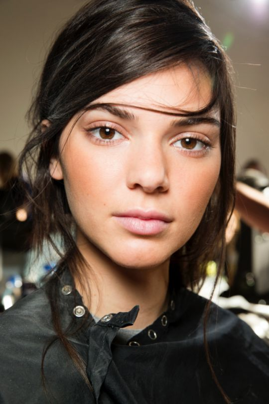 If you want some inspiration take a look at Kendall Jenner when she walked the Michael Kors catwalk this is the perfect no make makeup look!