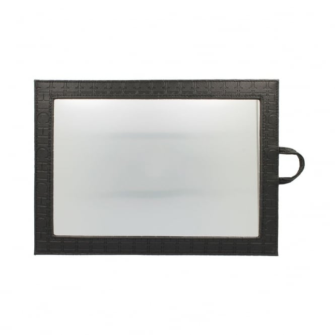 123 Hair and Beauty Chic Mirror Black