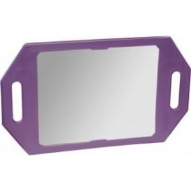 Two Handed Mirror Purple