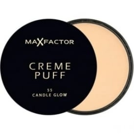 2 x Max Factor Creme Puff- Candle Glow 55