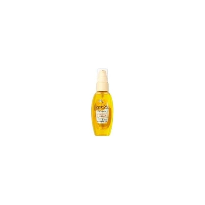 Schwarzkopf 6 x Got2b Oil-Licious Tame & Shine Styling Oil
