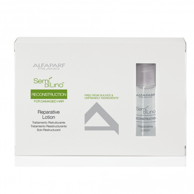 Alfaparf Semi Di Lino Reconstruction Lotion 6x13ml
