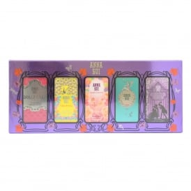 5 Piece Eau De Toilette Miniature Gift Set 4ml