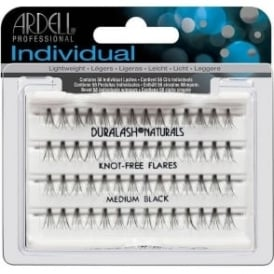 Ardell Individual Eyelashes Knotfree Flares Medium Black