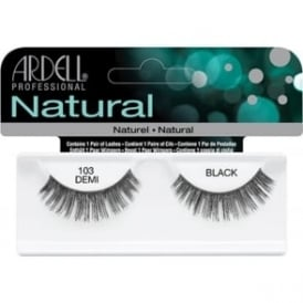 Natural Demi Lashes Black 103