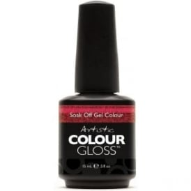 Artistic Colour Gloss Soak ­Off Gel Polish- Hotness