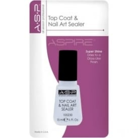 ASP Top Coat & Nail Art Sealer