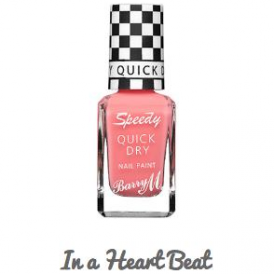 Barry M Speedy Quick Dry Nail Paint In A Heartbeat