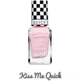 Barry M Speedy Quick Dry Nail Paint Kiss Me Quick