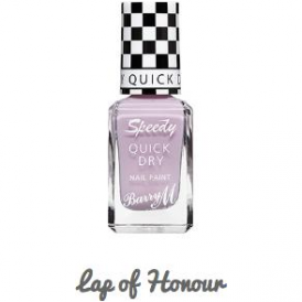 Barry M Speedy Quick Dry Nail Paint Lap Of Honour