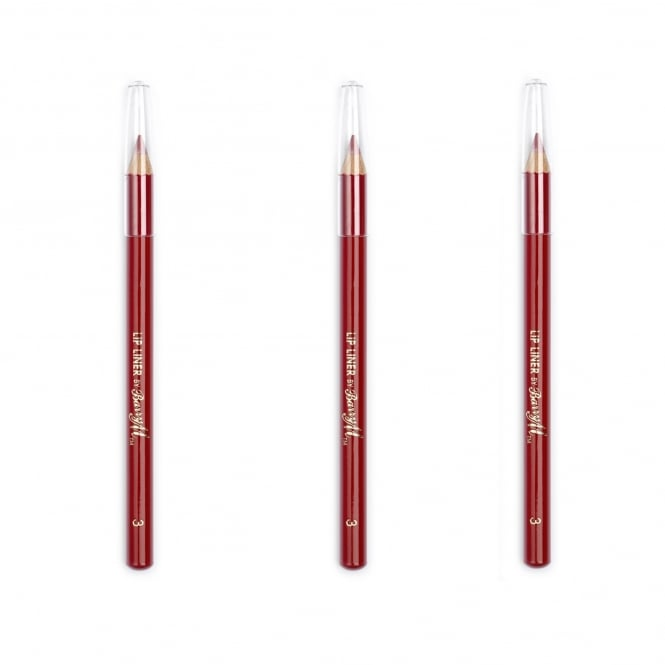 Barry M X 3 Lip Liner Red