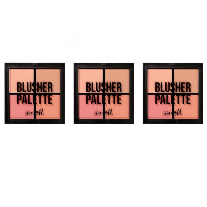 Barry M X3 Blusher Quad Palette