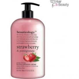 Beauticology Strawberry & Pomegranate Bath and Shower Creme