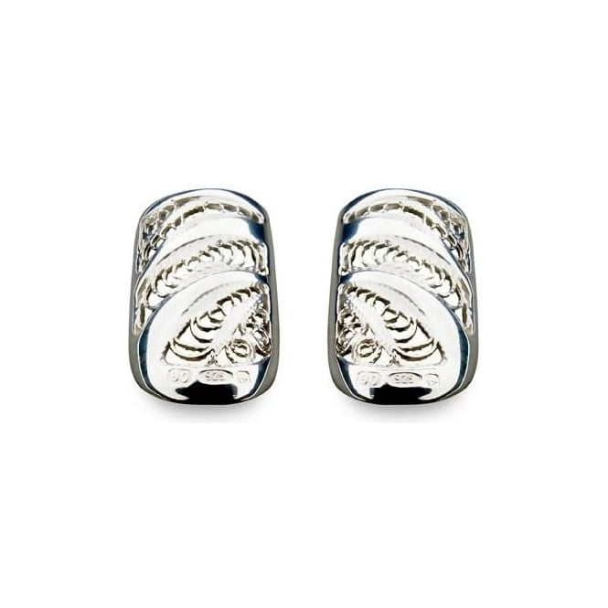 Bohem NO STOCK Silver Lace Nails - Pair