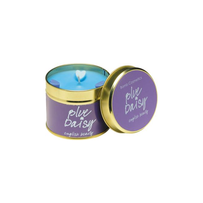 Bomb Cosmetics Blue Daisy Tinned Candle