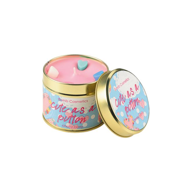 Bomb Cosmetics Cute as a Button Candle