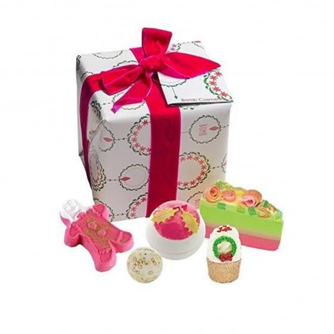 Bomb Cosmetics Holly Soaks Gift Box