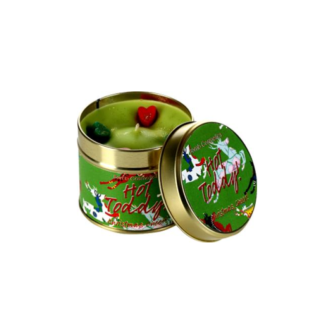 Bomb Cosmetics Hot Toddy Tin Candle