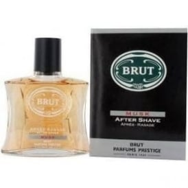 NO STOCK Brut Musk Aftershave Boxed