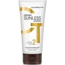 California Tan Sunless Instant Sunless Lotion