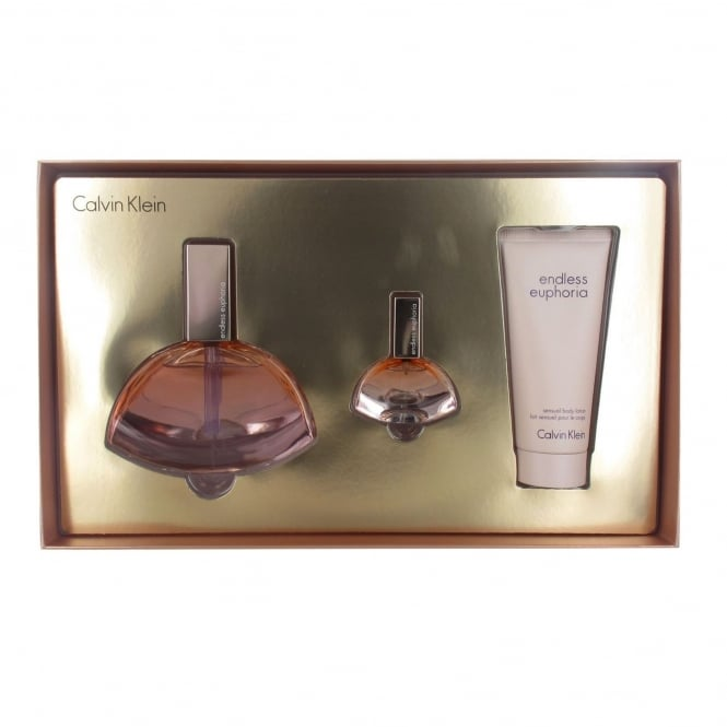 Calvin Klein NO STOCK Euphoria Endless Gift Set - 125ml EDP/15ml EDP/100ml Body Lotion