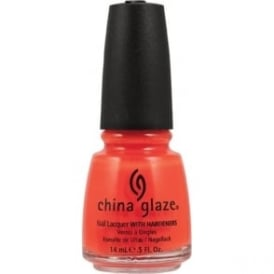 Nail Polish Orange Knockout
