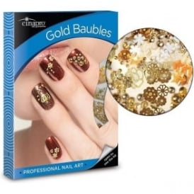 Gold Baubles Nail Art Kit