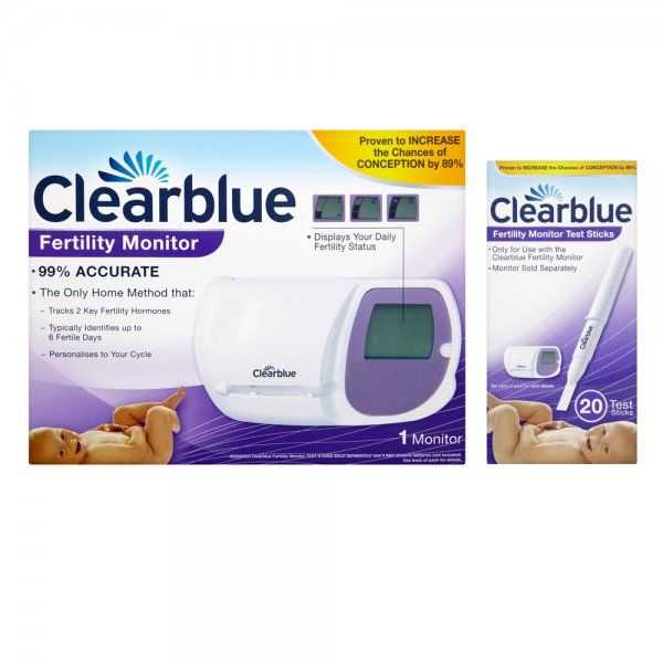 Clearblue easy fertility monitor on clomid