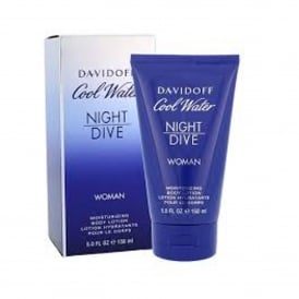 Davidoff Cool Water Women Night Dive Body Lotion