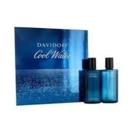 Davidoff Cool Water 75ml Eau De Toilette/ 75ml Aftershave