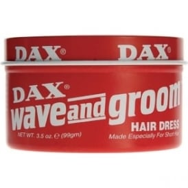 Wave and Groom Hair Dress Wax
