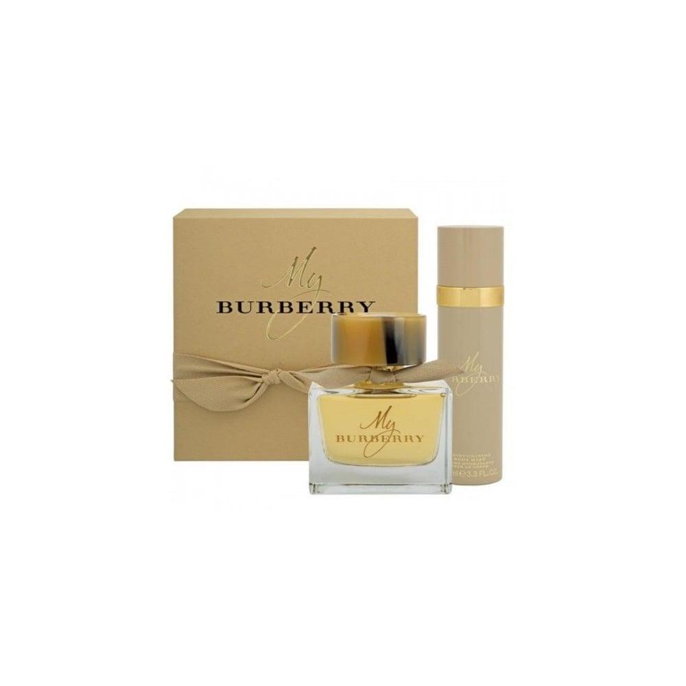My Burberry Eau De Parfum Spray 90ml Deodorant Spray 100ml