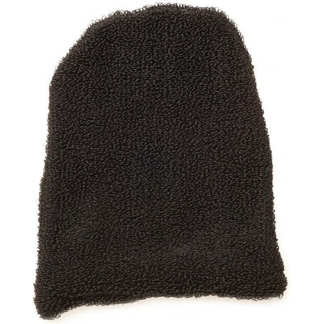 Salon Services DISCONTINUED Cotton Mitts Black No Thumb