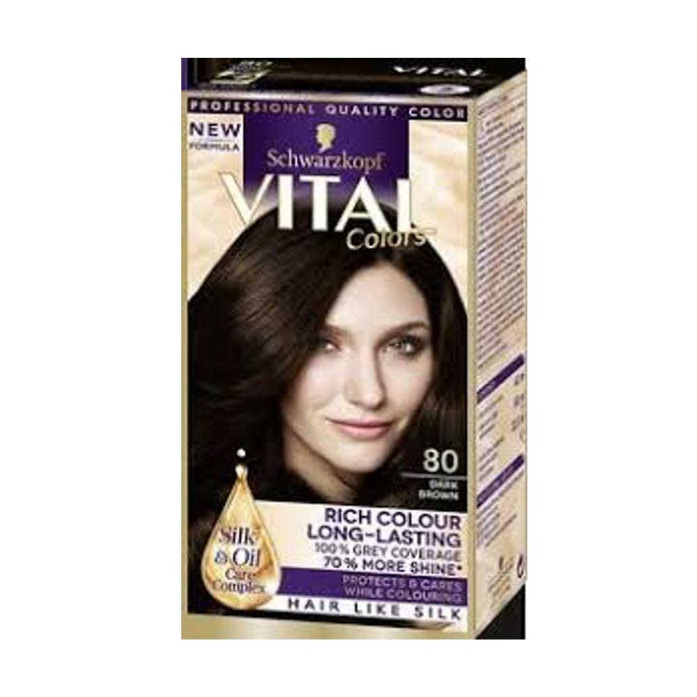 Vital Colors 80 Dark Brown