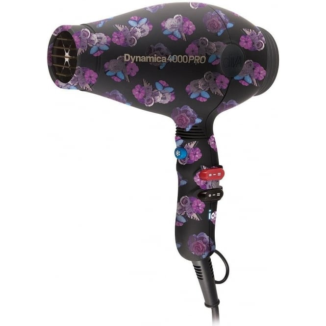 Diva Professional Styling DISCONTINUED Diva Rebel Limited Edition Dynamica 4000 PRO Hairdryer- Floral
