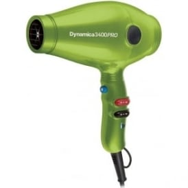 Chromatix Dynamica 3400 PRO Rubberised Hairdryer Lime Green