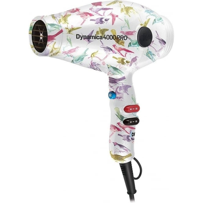Diva Professional Styling Diva Rebel Limited Edition Dynamica 4000 PRO Hairdryer Aviary