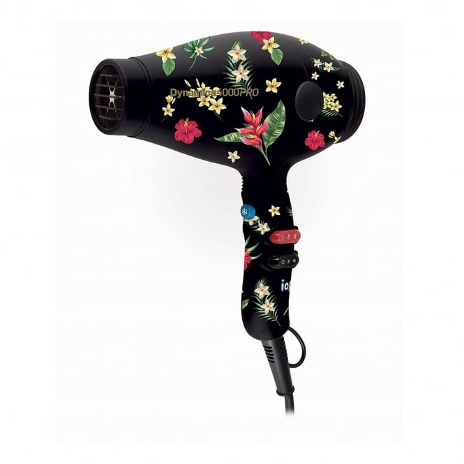 Diva Professional Styling Styling Rebel Dynamica 4000 Pro Hairdryer Tropical Burst