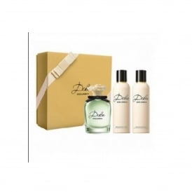 Dolce Gift Set- 75ml Eau de Parfum Spray, 100ml Body Lotion, 100ml Shower Gel