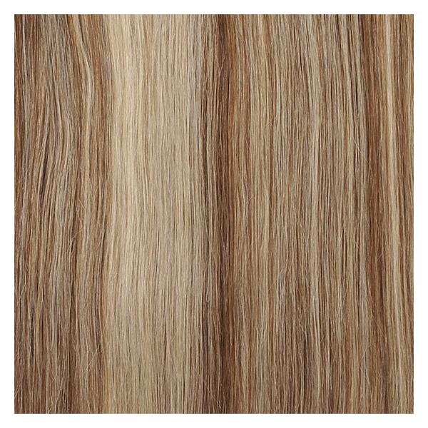 Golden Brown Light Blonde Straight Hair Extension Colour