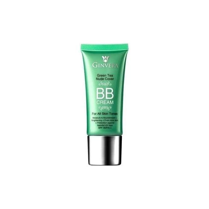 Ginvera Green Tea Nude Cover BB Cream - Beauty Geek