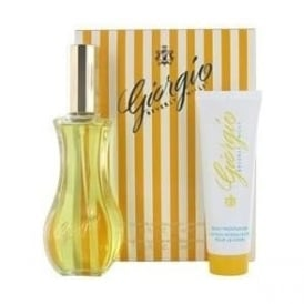 Giorgio Yellow 90ml Eau De Toilette/50ml Body Lotion