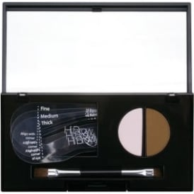 24hr Brow Powder Compact - Light Brown