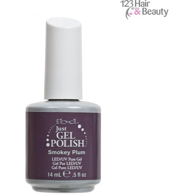 ibd DISCOTNINUED Just Gel Polish - Smokey Plum