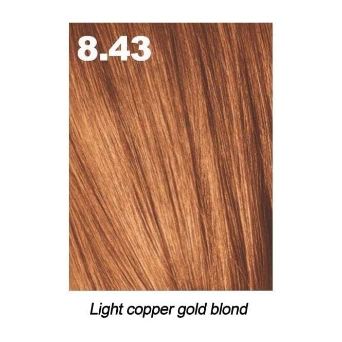 Light Golden Copper Blonde 8cg 8 43