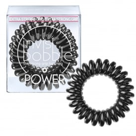 Power Hair Ring - True Black