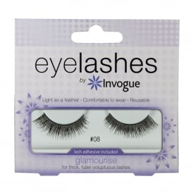 Invogue Eyelashes 8 Glamourise for Fuller Lashes