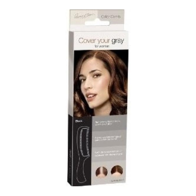 Irene Gari Cover Your Gray Cover Combs – Black 10g