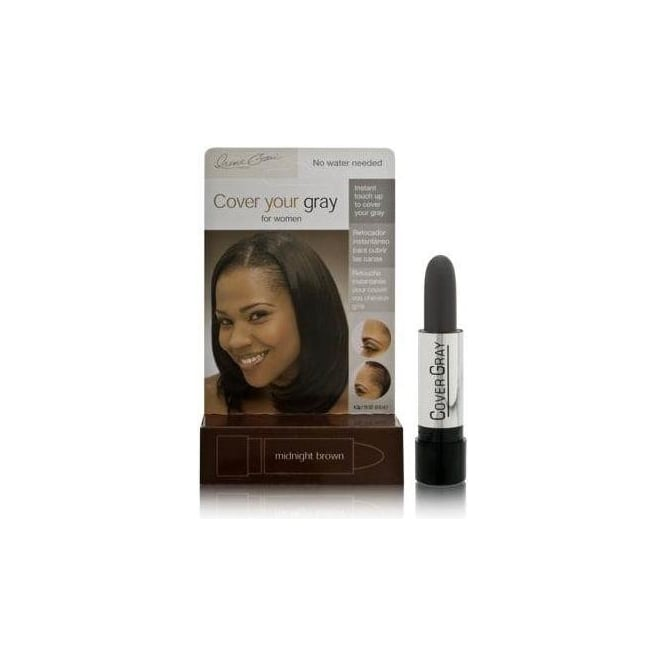 Irene Gari Cover Your Gray Cover Up Stick – Midnight Brown 4.2g