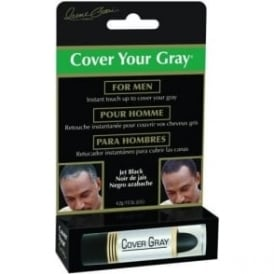 Cover Your Gray Mens Cover Up Stick – Jet Black